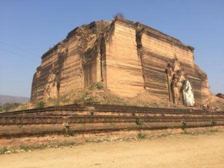 Visite du site de Mingun en Birmanie